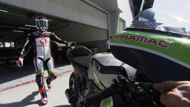 Sepang MotoGP Test 1 - Day 3 - Hector Barbera in action