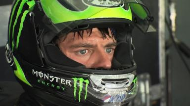 Sepang MotoGP Test 1 - Day 3 - Cal Crutchlow in action
