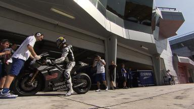 Sepang MotoGP Test 1 - Day 3 - Jorge Lorenzo in action