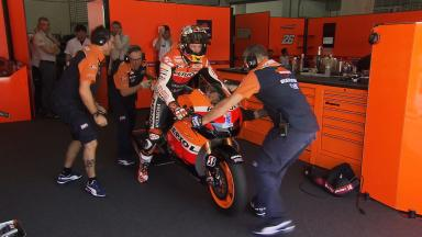 Sepang MotoGP Test 1 - Day 3 - Casey Stoner in action