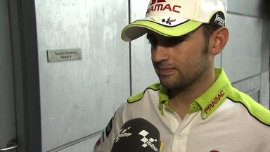2012 MotoGP - Sepang Test 1 - Day 3 - Interview - Hector Barbera