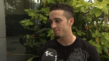 2012 MotoGP - Sepang Test 1 - Day 3 - Interview - Andrea Dovizioso