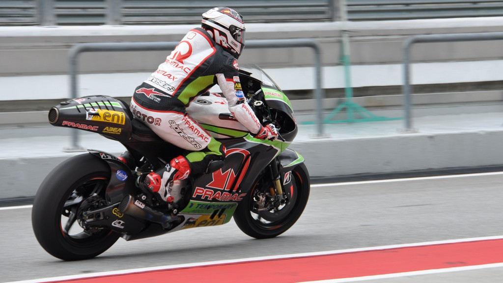 Hector Barbera, Pramac Racing Team, Sepang Test