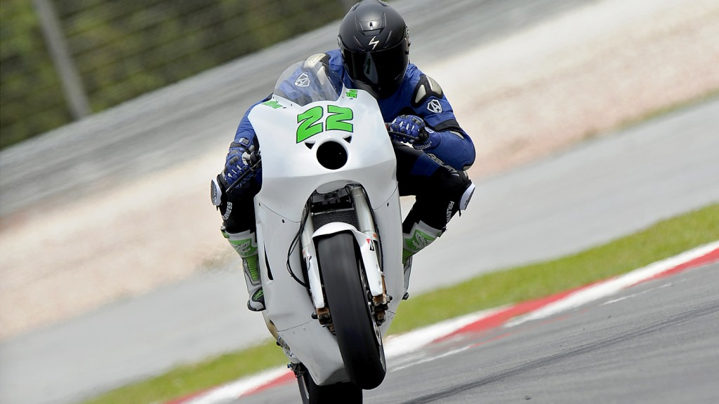 Ivan Silva, Avintia Racing, Sepang Test