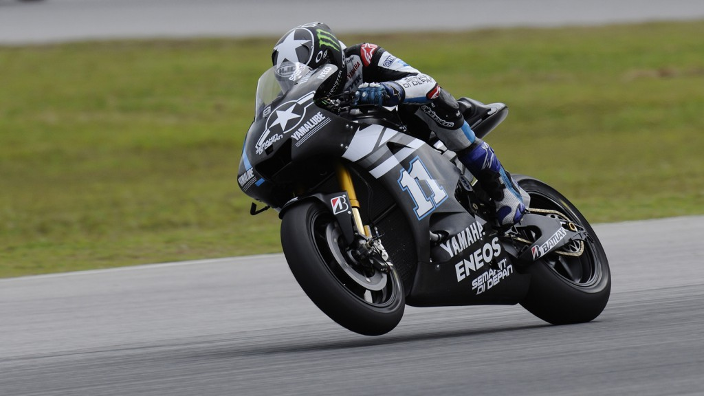 Ben Spies, Yamaha Factory Racing, Sepang Test