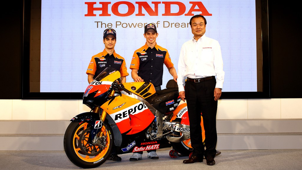 Pedrosa, Stoner, Ito, Honda Motor Sports Project Presentation