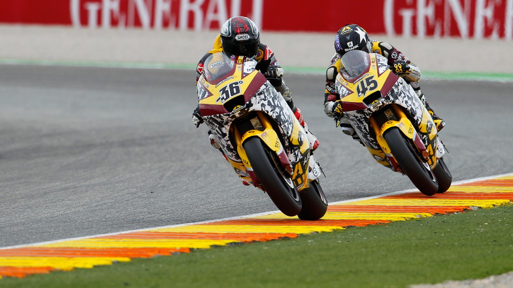 Kallio, Redding, Marc VDS Racing Team, Valencia RAC
