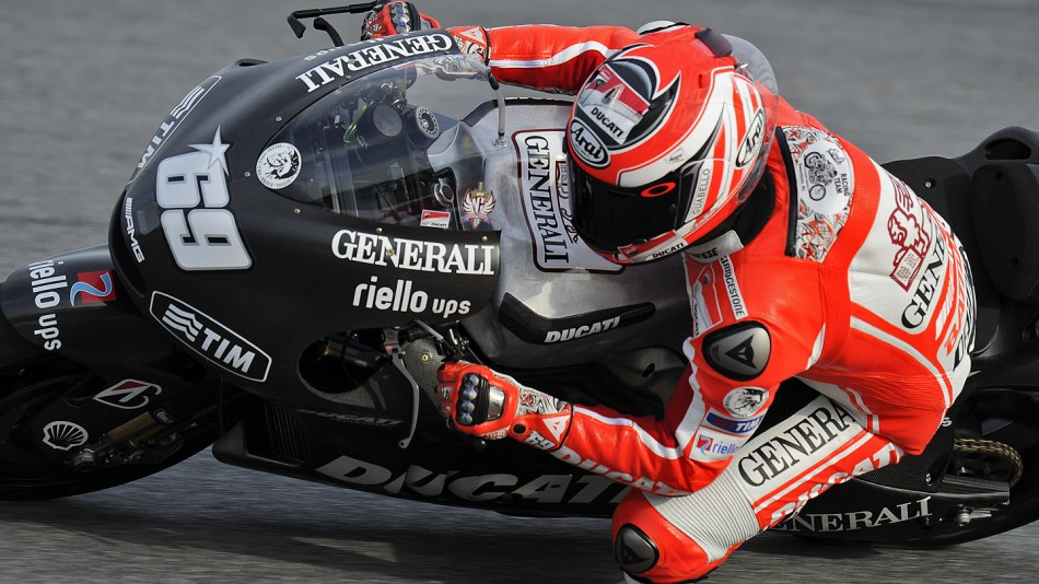 Nicky Hayden, Ducati Team, Sepang Test