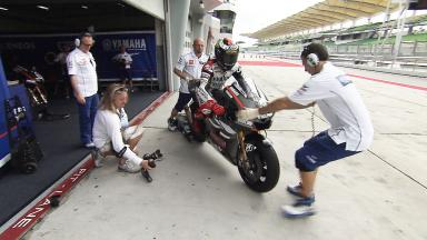 Lorenzo on Yamaha potential after Sepang Test