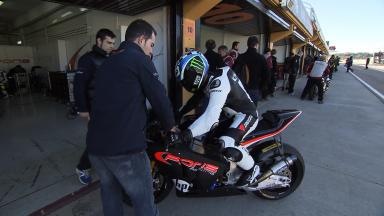 Valencia Test Moto2 - Day 1 Highlights