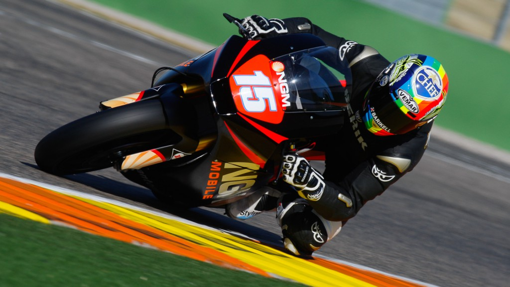 Alex de Angelis, NGM Mobile Forward Racing, Valencia Test