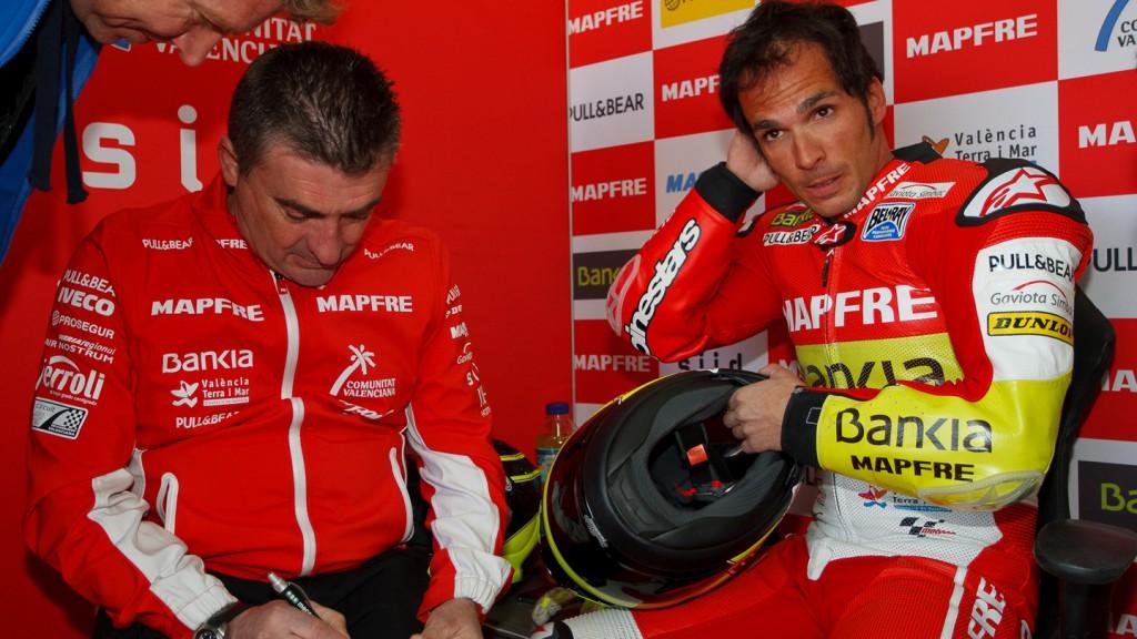 Toni Elias, Aspar Team Moto2, Valencia Test