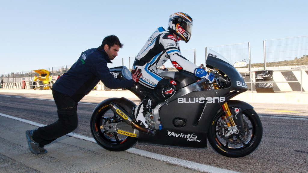 Julian Simon, Avintia Racing Moto2, Valencia Test