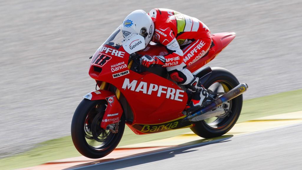 Nico Terol, Aspar Team Moto2, Valencia Test