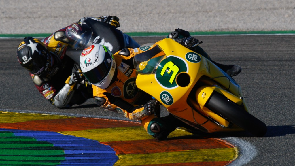 Simone Corsi, Ioda Racing Project, Valencia Test