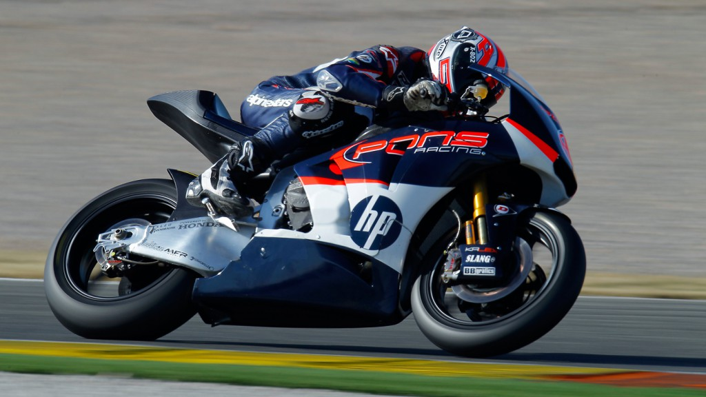 Axel Pons, Pons Racing, Valencia Test