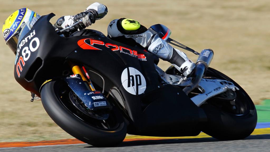 Esteve Rabat, Pons Racing, Valencia Test