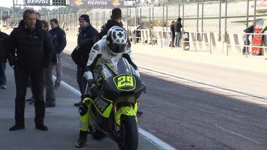Valencia Test Moto2 - Day 3 Highlights