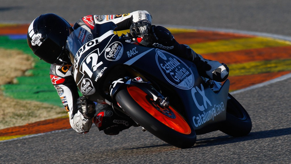 Álex Marquez, Monlau Competicion, Valencia Test