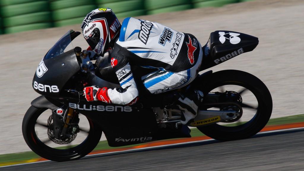 Maverick Viñales, Avintia Racing Moto3, Valencia Test