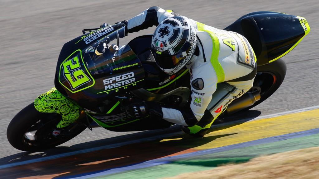 Andrea Iannone, Speed Master, Valencia Test