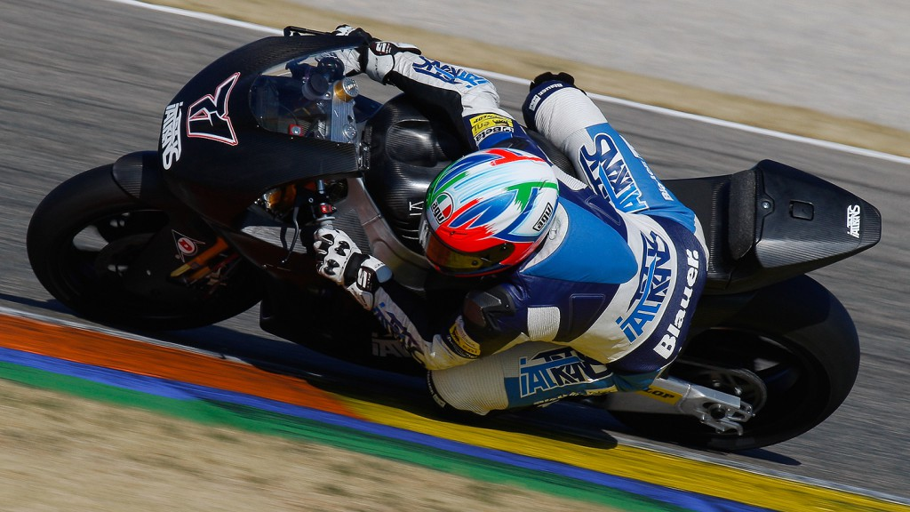 Claudio Corti, Italtrans Racing Team, Valencia Test