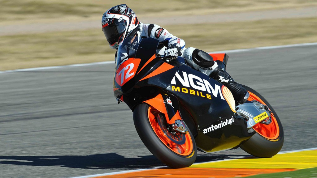 Yuki Takahashi, NGM Mobile Forward Racing, Valencia Test