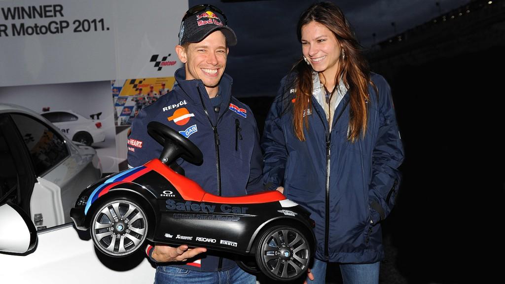 Casey Stoner, Adriana Tuchyna, Repsol Honda Team