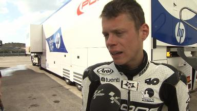 2012 - Moto2 - Jerez Test - Day 3 - Interview - Esteve Rabat