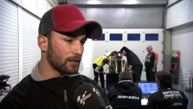 2012 - MotoGP - Jerez Test - Day 1 - Interview - Mattia Pasini