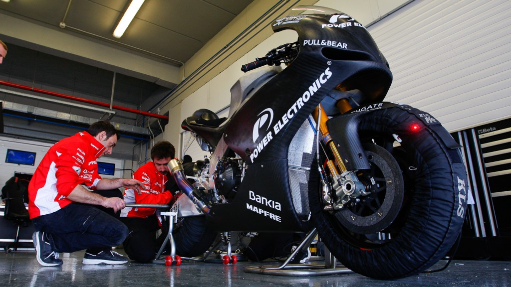 Power Electronics Aspar, Jerez Test