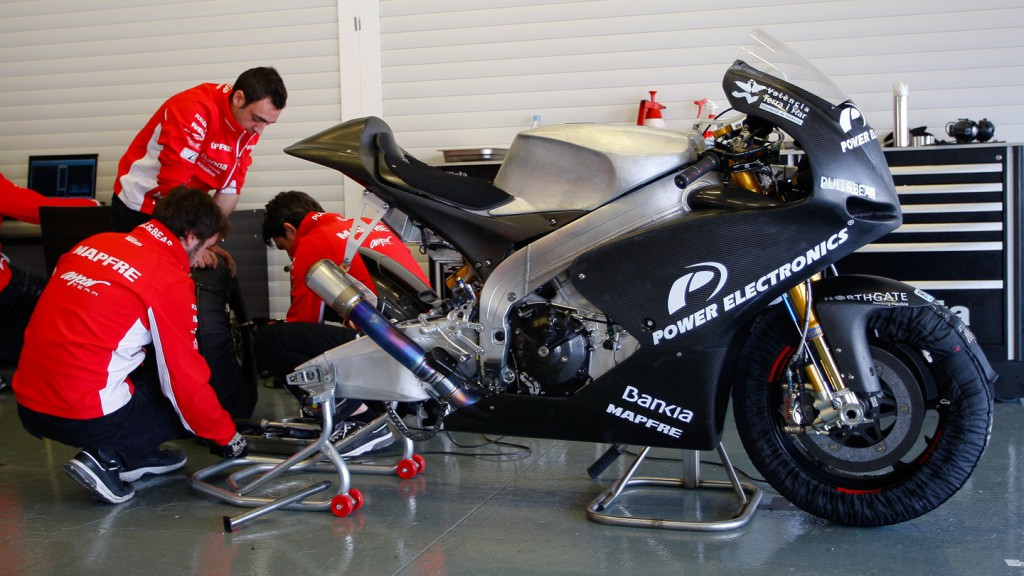 Power Electronics Aspar, Jerez Test
