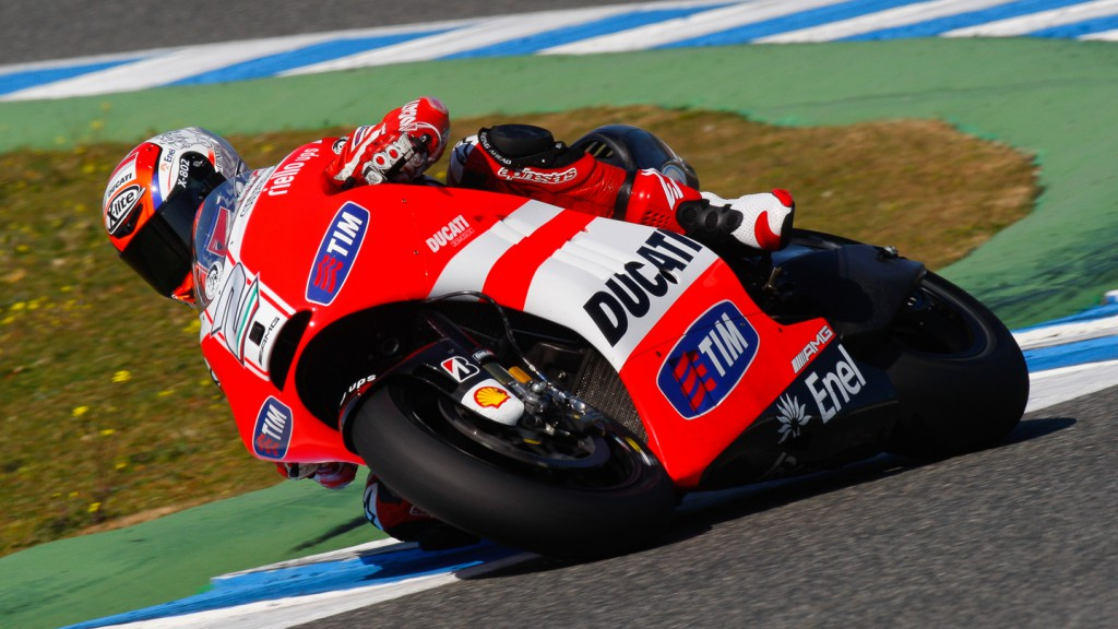 Franco Battaini, Ducati Test Team, Jerez Test