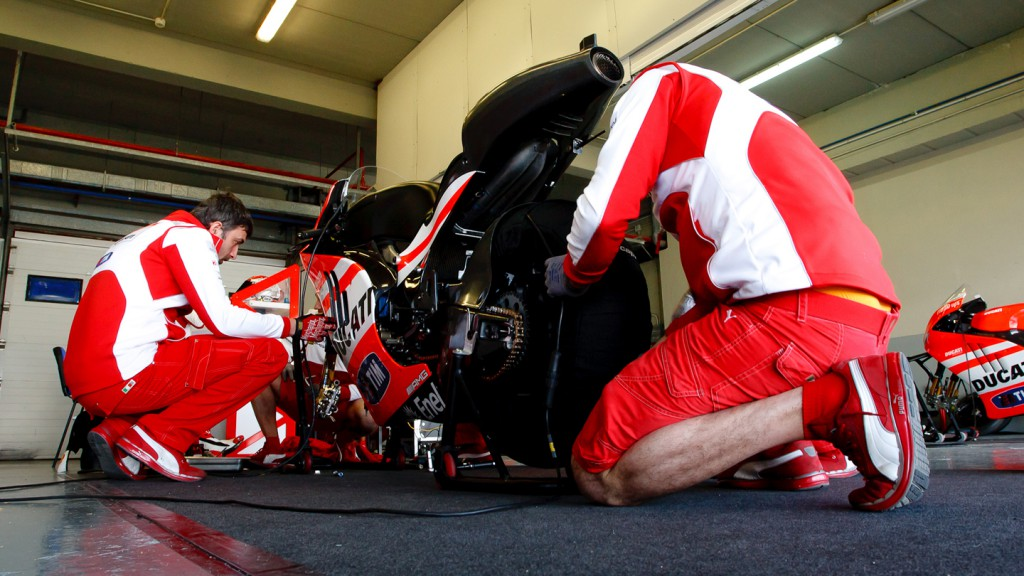 Ducati Team, Jerez Test