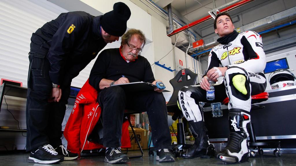 Aleix Espargaro, Power Electronics Aspar , Jerez Test