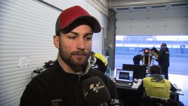 2012 - MotoGP - Jerez Test - Day 2 - Interview - Mattia Pasini