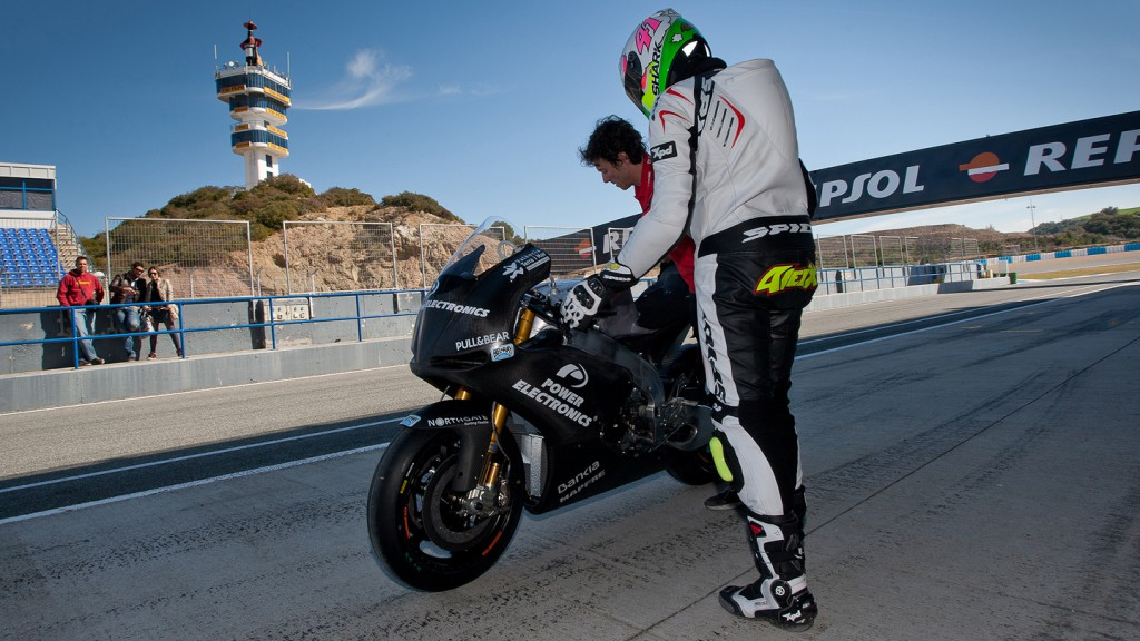 Aleix Espargaro, Power Electronics Aspar, Jerez Test