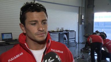 2012 - MotoGP - Jerez Test - Day 3 - Interview - Randy De Puniet