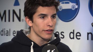 Marquez on his physical condition