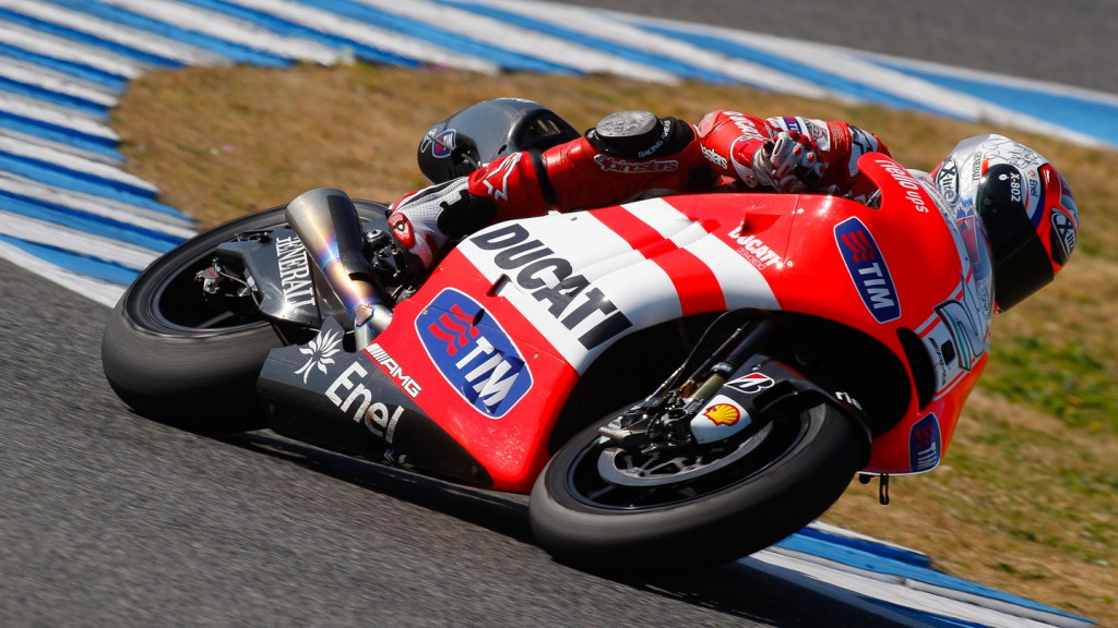 Franco Battaini, Ducati Team, Jerez Test