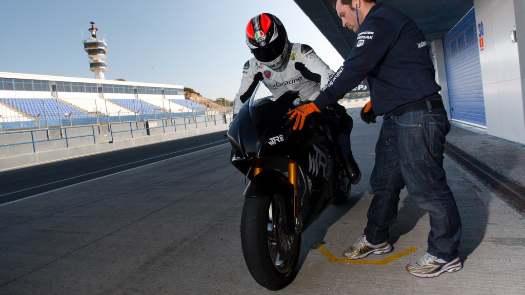 Danilo Petrucci, Ioda Racing Project, Jerez Test