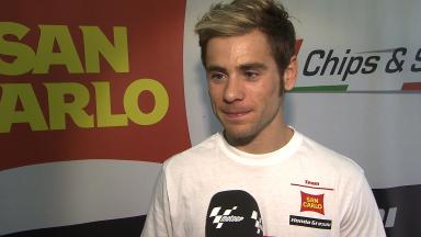 2012 - MotoGP - Sepang Test - Day 1 - Interview - Alvaro Bautista