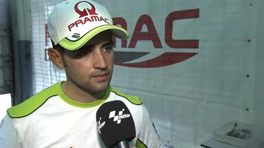 2012 - MotoGP - Sepang Test - Day 1 - Interview - Hector Barbera