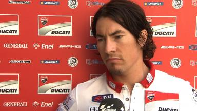 2012 - MotoGP - Sepang Test - Day 1 - Interview - Nicky Hayden