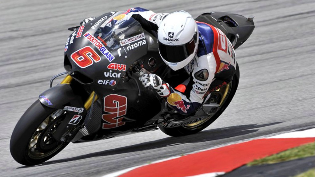 Stefan Bradl, LCR Honda MotoGP, Sepang Test 2