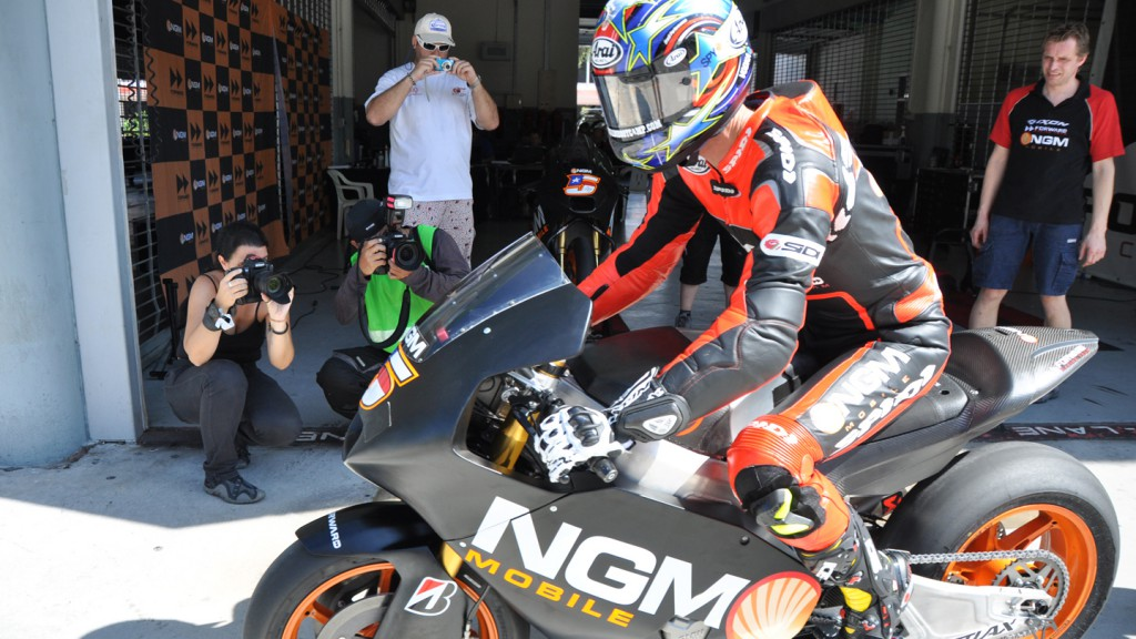 Colin Edwards, NGM Mobile Forward Racing - Sepang Test 2