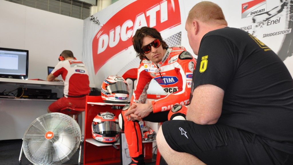 Nicky Hayden, Ducati Team - Sepang Test 2