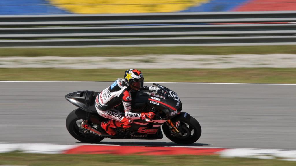 Jorge Lorenzo, Yamaha Factory Racing, Sepang Test 2