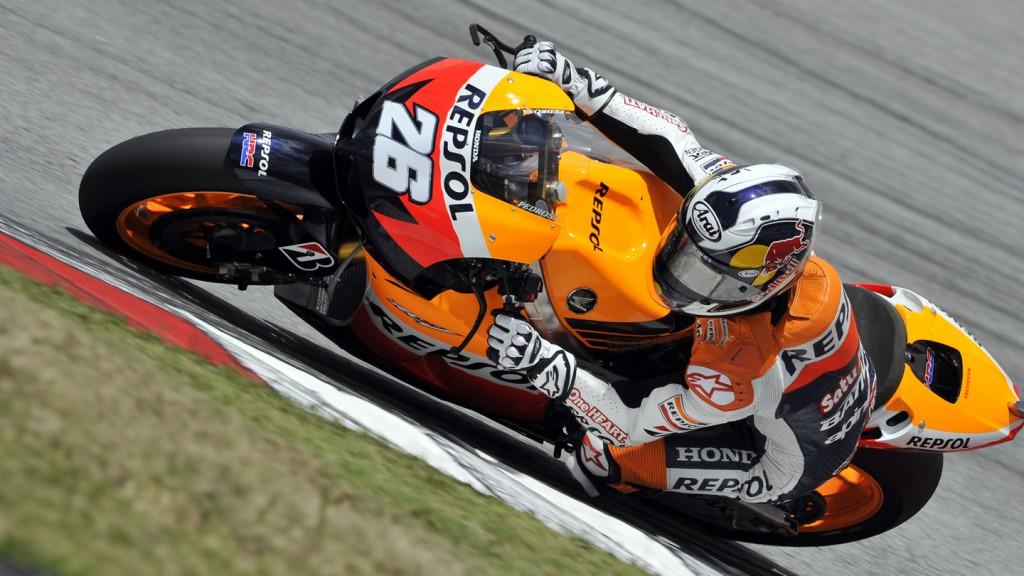Dani Pedrosa, Repsol Honda Team, Sepang Test 2