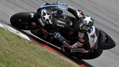 Ben Spies, Yamaha Factory Racing, Sepang Test 2